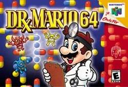Dr. Mario 64 (USA) Box Scan